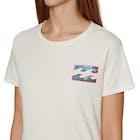 Billabong New Remind Ladies Short Sleeve T-Shirt