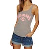 Billabong Chill Out Womens Tank Vest - Dk Athl Grey