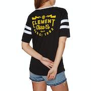 T-Shirt à Manche Courte Femme Element Zap Fb