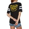 T-Shirt à Manche Courte Femme Element Zap Fb - Black