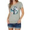 T-Shirt à Manche Courte Femme Rip Curl Hibiscus Beach - Cement Marle
