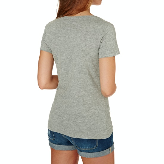 Rip Curl Hibiscus Beach Damen Kurzarm-T-Shirt