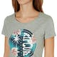 T-Shirt à Manche Courte Femme Rip Curl Hibiscus Beach