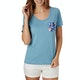 Rip Curl Pass Pocket Damen Kurzarm-T-Shirt