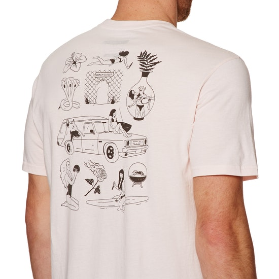 T-Shirt à Manche Courte Billabong Beach Closed