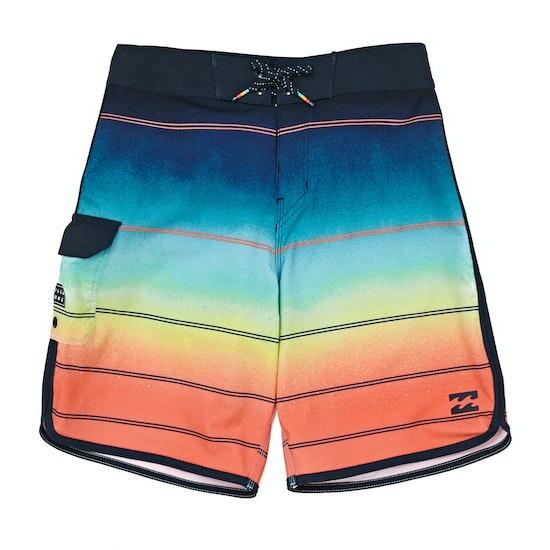 Billabong 73 X Stripe 16.5 Boys Boardshorts