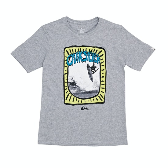 Quiksilver Hulu Pena Boys Short Sleeve T-Shirt