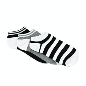Roxy Ankle Womens Socks - Anthracite
