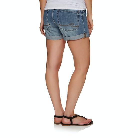 Roxy Green Turtle Ladies Shorts