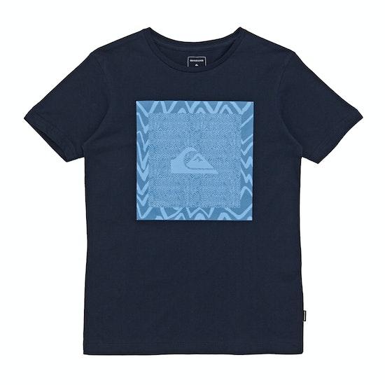 Quiksilver Nano Spano Boys Short Sleeve T-Shirt