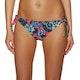 Roxy Salty Roxy Tie Bikini Bottoms