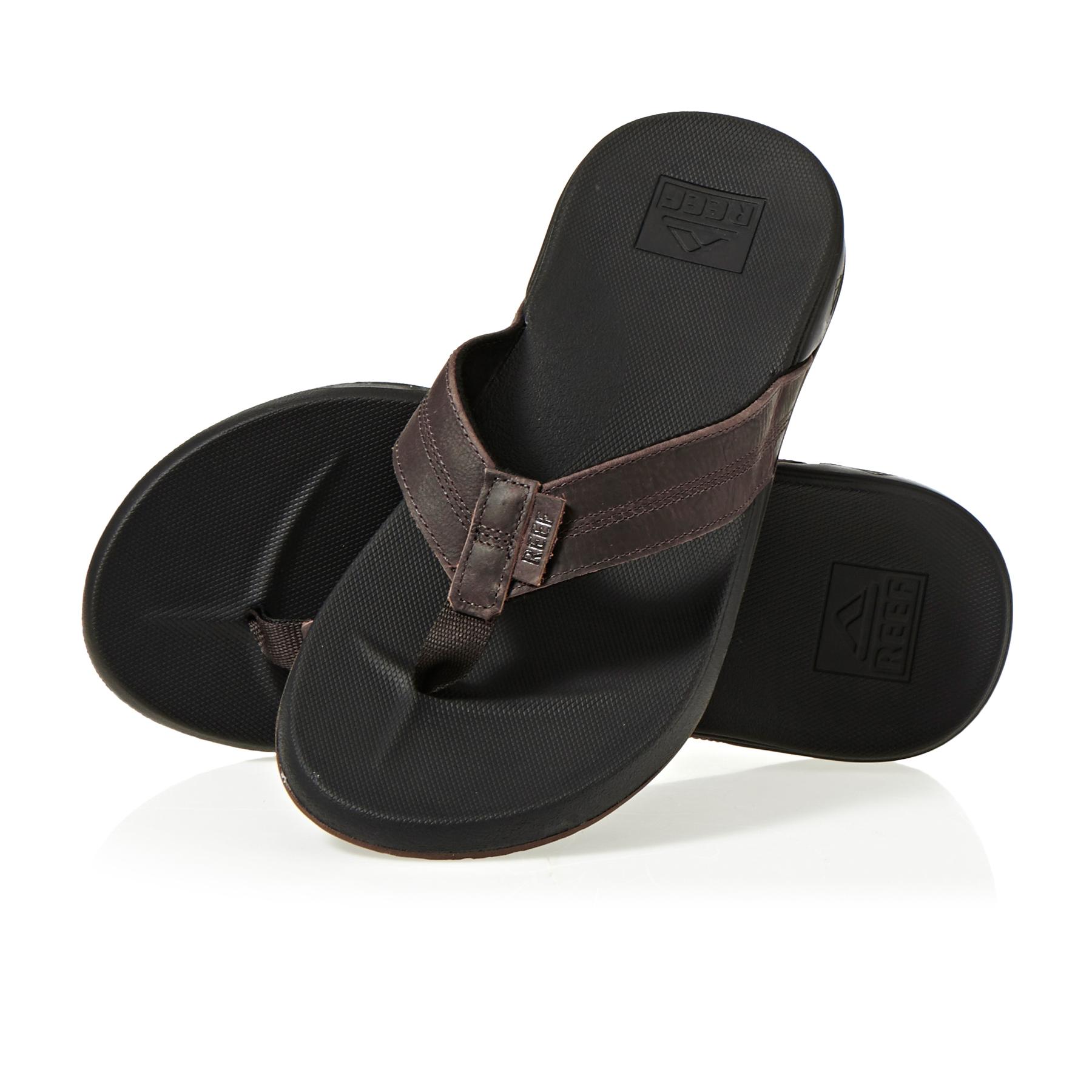 Reef Men/'s Cushion Bounce Phantom LE Flip Flop Sandals Black Brown