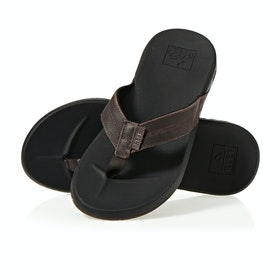 Reef Cushion Bounce Phantom Le Sandals - Black Brown