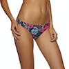 Roxy Salty Bikini Bottoms - Rouge Red Mahna