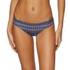 Roxy S And R 70s J Bikini Bottoms - China Blue New Maiden Swim