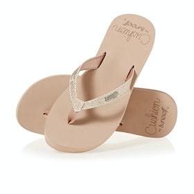 Reef Star Cushion Womens Sandals - Almond