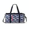 Roxy El Ribon Womens Duffle Bag - Dress Blues Geometric Feeling