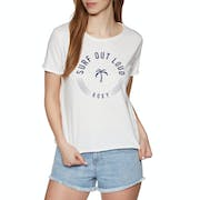 Roxy Pop Surf A Womens Short Sleeve T-Shirt