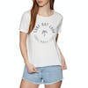Roxy Pop Surf A Womens Short Sleeve T-Shirt - Marshmallow