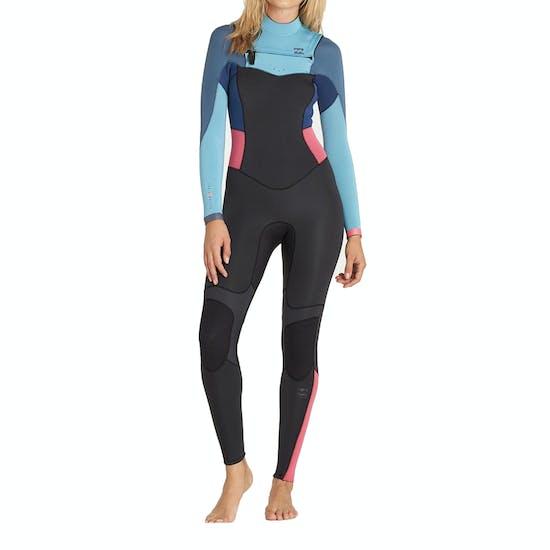 Combinaison de Surf Femme Billabong Synergy 3/2mm 2018 Chest Zip