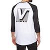 T-Shirt à Manche Longue Vans Grand Raglan - White-black