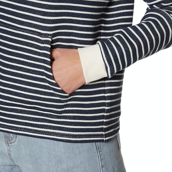 Roxy Greatest Glory Stripe Womens Pullover Hoody