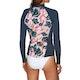 Billabong 1mm Peeky Long Sleeve Front Zip Womens Rash Vest