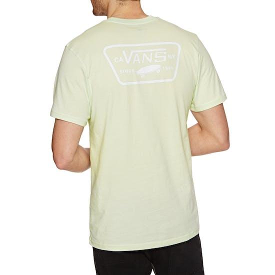 T-Shirt à Manche Courte Vans Full Patch Back