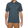 Chemise Polo Carhartt Chase - Stone Blue / Gold