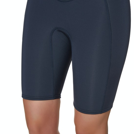 Billabong Synergy 2mm Chest Zip Shorty Damen Neoprenanzug