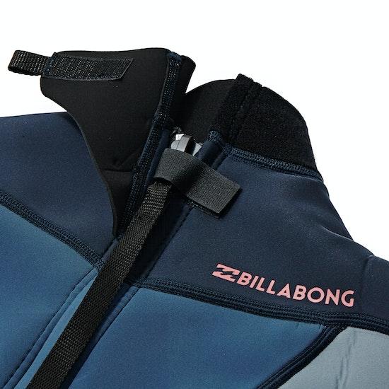 Combinaison de Surf Billabong Girls Synergy 2mm 2018 Back Zip Shorty