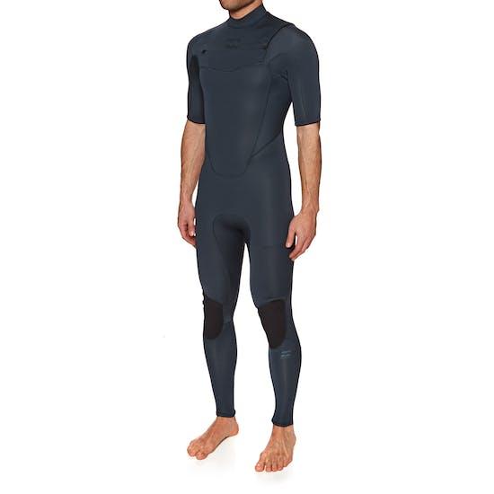 Combinaison de Surf Billabong Absolute 2mm 2018 Chest Zip Short Sleeve