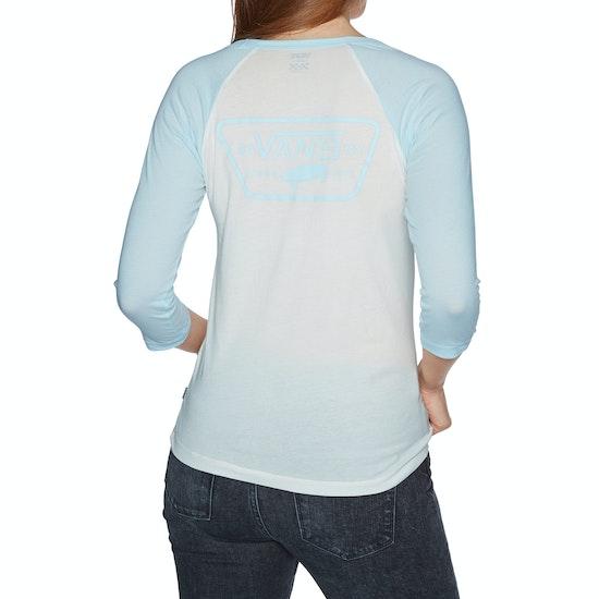 Vans Full Patch Raglan Womens Long Sleeve T-Shirt