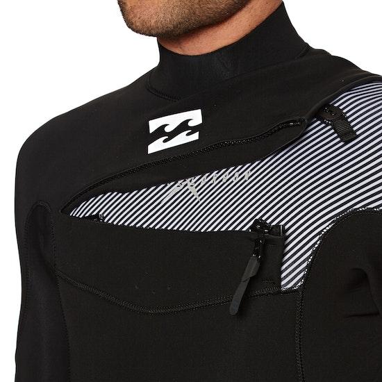 Billabong Furnace Comp 4/3mm 2018 Chest Zip Wetsuit