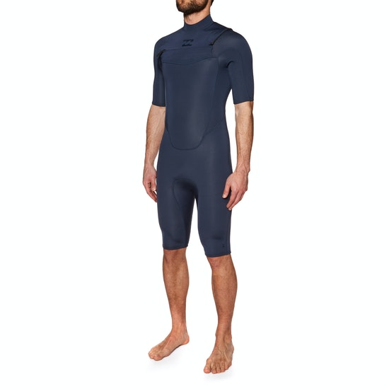 Billabong Absolute Shorty 2mm 2018 Chest Zip Short Sleeve Wetsuit