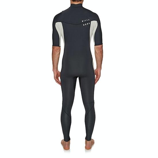 Billabong Revolution D Bah 2mm 2018 Chest Zip Short Sleeve Wetsuit