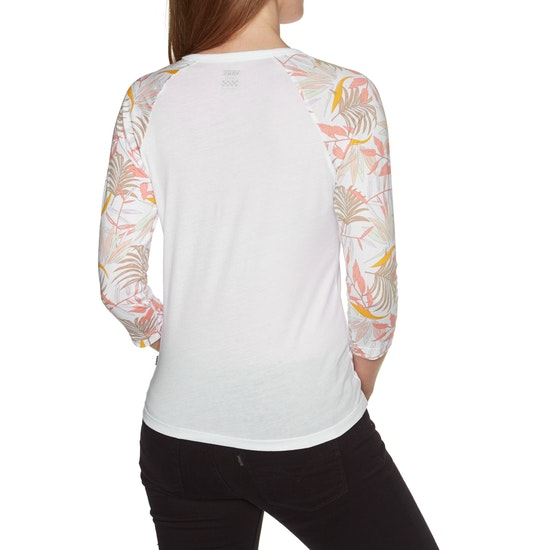 T-Shirt à Manche Longue Femme Vans Wm California Floral