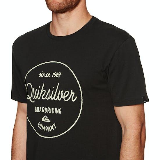 Quiksilver Classic Morning Slides Short Sleeve T-Shirt