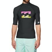 Billabong Team Wave Short Sleeve Rash Vest