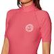 Billabong Logo Colour Short Sleeve Womens Rash Vest