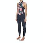 Billabong Salty Jane 2mm 2018 Front Zip Sleeveless Long Jane Ladies Wetsuit