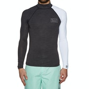 Billabong Contrast Long Sleeve Rash Vest