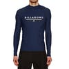 Billabong Unity Long Sleeve Rash Vest - Navy