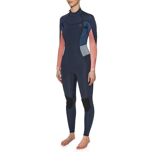 Combinaison de Surf Femme Billabong Synergy 3/2mm 2018 Back Zip