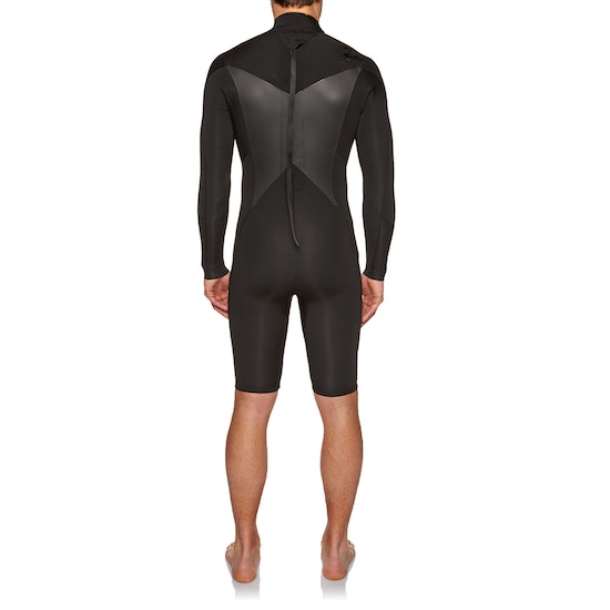 Billabong Absolute 2mm 2018 Back Zip Long Sleeve Shorty Wetsuit