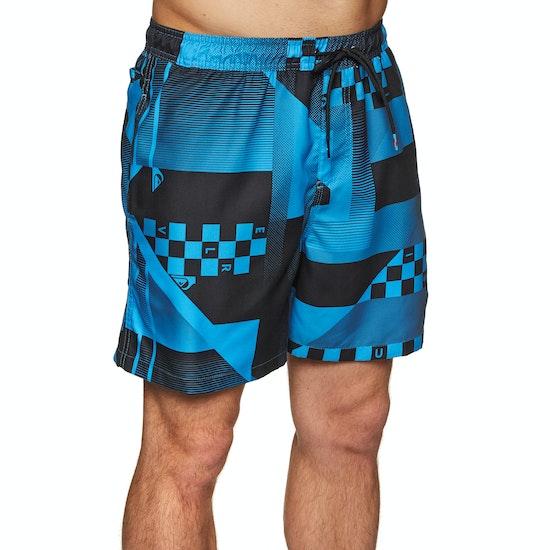 Quiksilver Checker Swim Shorts