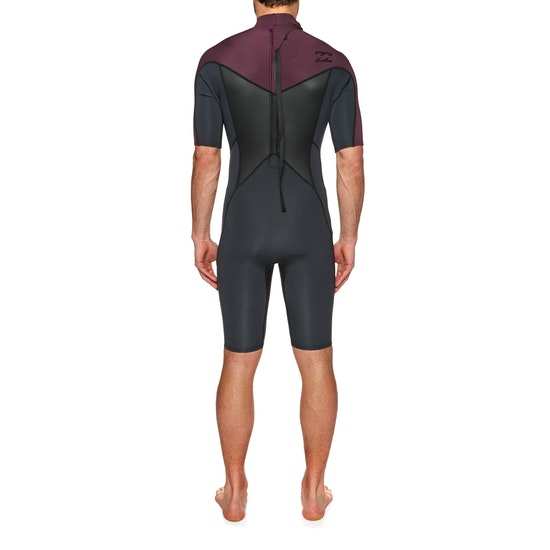 Billabong Absolute 2mm 2018 Back Zip Shorty Wetsuit