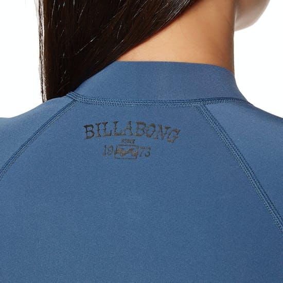 Wetsuit Jacket Femme Billabong Peeky 2mm 2018 Front Zip Long Sleeve
