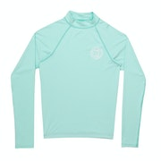 Licra Girls Billabong Logo Long Sleeve