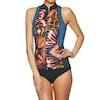 Wetsuit Jacket Femme Billabong Salty Dayz 2mm Front Zip Sleeveless - Tribal